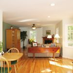 The Renae breakfast area and living room
