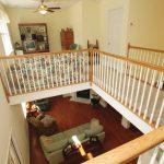 The Savannah balcony with sitting room upstairs