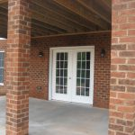 The Laurel rear covered porch
